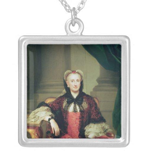 Maria Amalia de la reina de Sajonia de España Colgante