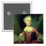 Maria Anna Mozart, llamada 'Nannerl Pin Cuadrada 5 Cm