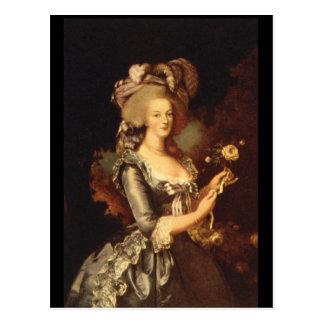 Maria Antonietta', Elisabeth_Portraits Postcard