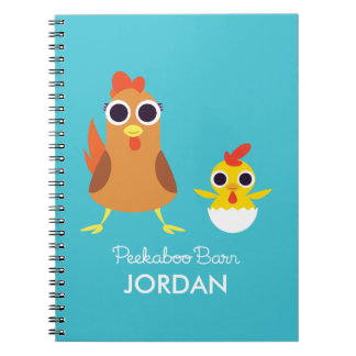 Maria & Bandit the Chickens Notebook