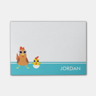 Maria & Bandit the Chickens Post-it Notes