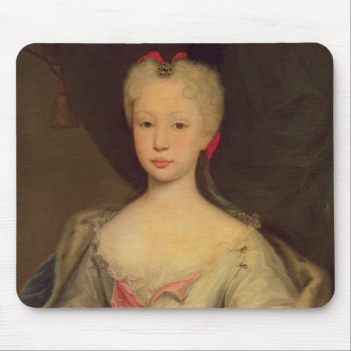 Maria Barbara de Braganza  Queen of Spain Mouse Pads