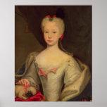Maria Barbara de Braganza  Queen of Spain Poster