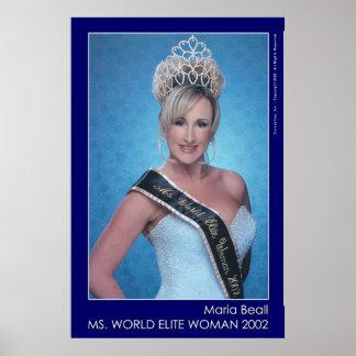 Maria Beall - ms World - 1 Impresiones