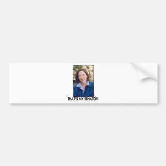Maria Cantwell, That's My Senator! Bumper Sticker