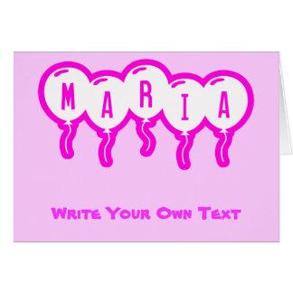 Maria Card