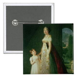 Maria Carolina Bonaparte, Queen of Naples Button