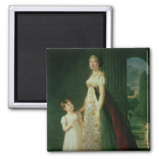 Maria Carolina Bonaparte, Queen of Naples Magnet