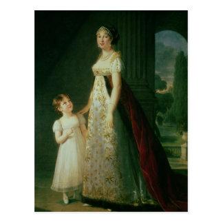 Maria Carolina Bonaparte, reina de Nápoles Postales
