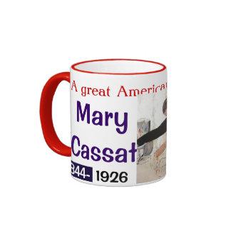 MARIA CASSAT TAZA DE CAFÉ