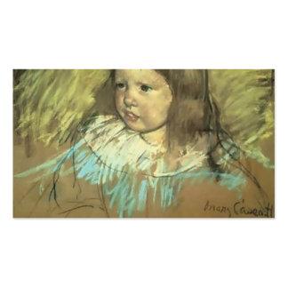 Maria Cassatt- Margaret Milligan Sloan Tarjeta De Visita