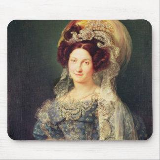 Maria Christina de Bourbon Mouse Pad
