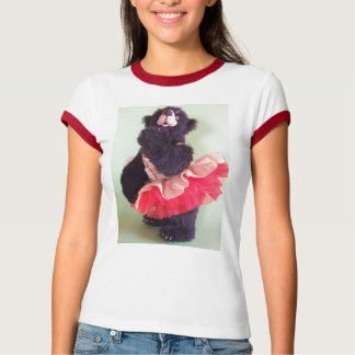 Maria Collin Party Girl in Red T-Shirt