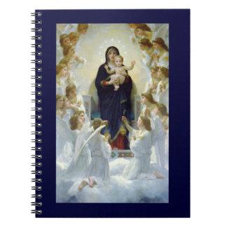 Maria con ángeles - Regina Angelorum Cuaderno