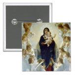 Maria con ángeles - Regina Angelorum Pin