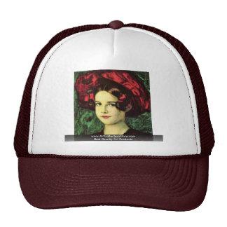 Maria con Red Hat de Francisco pegado Von Gorros