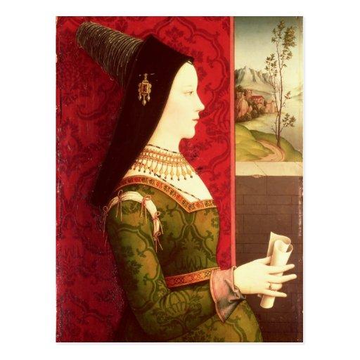 Maria de la hija de Borgoña de Charles el Tarjetas Postales