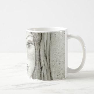 Maria divina taza de café