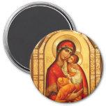 Maria el Dios-Portador Imán