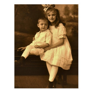 Maria Elizabeth y Stephen Stanley SECHRIST, 1918 Postales