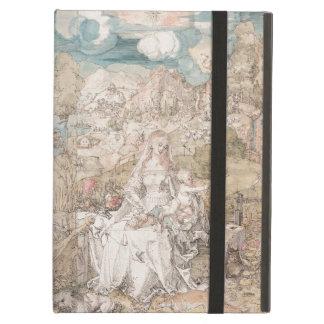 Maria entre una multitud de animales por Durer