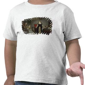 Maria Estuardo en el momento de irse para Camisetas