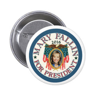 Maria Fallin para el presidente 2016 Pin Redondo De 2 Pulgadas