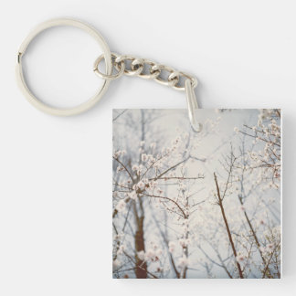 Maria Flow Rectangle (double-sided) Keychain