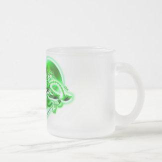 Maria Frosted Glass Coffee Mug