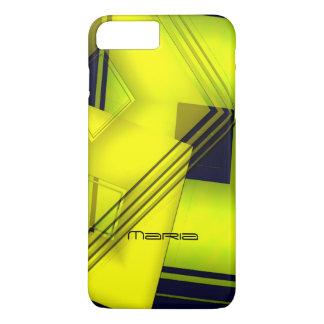Maria geometric yellow iPhone 7 Plus case