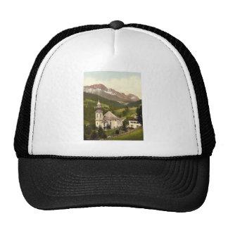 Maria Gern, general view, Upper Bavaria, Germany v Trucker Hat