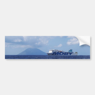 Maria Grazia On Off Stromboli Bumper Sticker