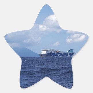 Maria Grazia On Off Stromboli Star Sticker