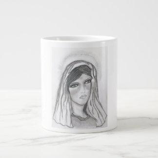 Maria gritadora taza extra grande