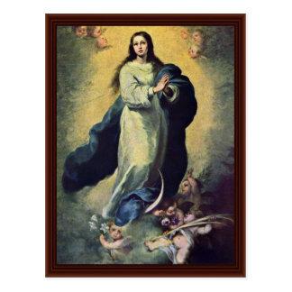 Maria ImmaculataBy Murillo Bartolomé Esteban Pérez Postales