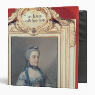 Maria Isabella of Parma Vinyl Binder
