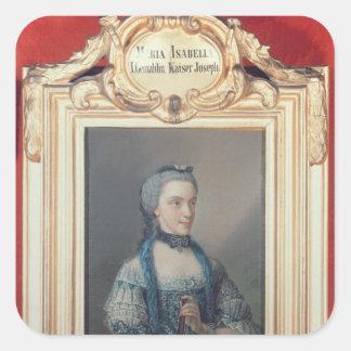 Maria Isabella of Parma Square Sticker