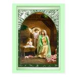 Maria, Jesús y un ángel Tarjeta Postal