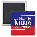 Maria Jo Kilroy para la campaña del congreso en 20 Imanes Para Frigoríficos