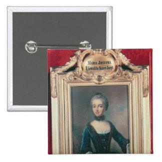 Maria Josepha de la esposa de Baviera segunda de J Pin Cuadrada 5 Cm