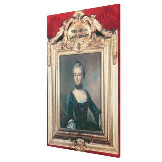 Maria Josepha of Bavaria second wife of Joseph Canvas Print