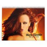 Maria Kanellis, Singer/Songwriter/Actress Calendar