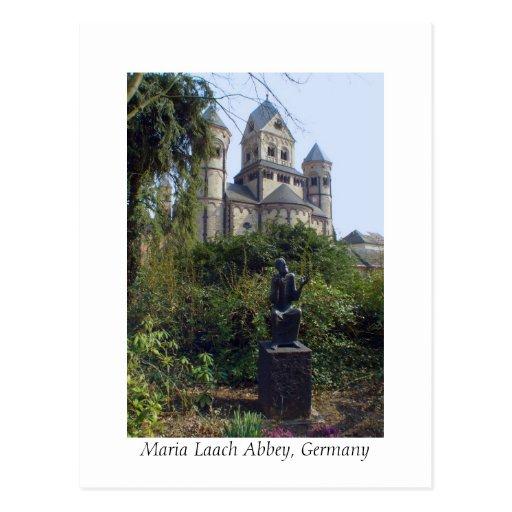 Maria Laach Abbey, Eifel, Germany Postcard