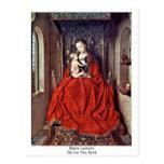 Maria Lactans By Jan Van Eyck Post Card