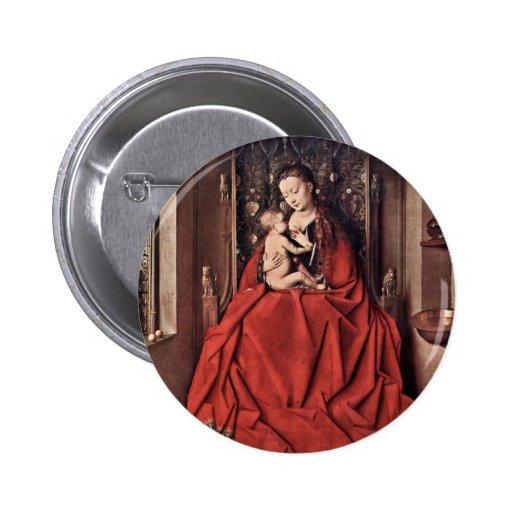 Maria Lactans de Eyck enero Van (la mejor calidad) Pin