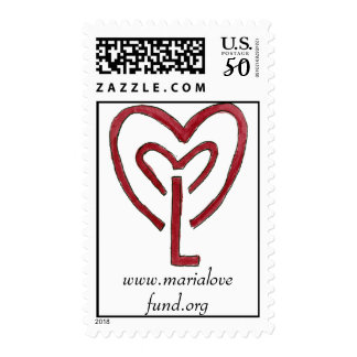 maria love fund stamp