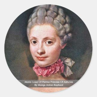 Maria Luisa Of Parma Princess Of Asturias Stickers
