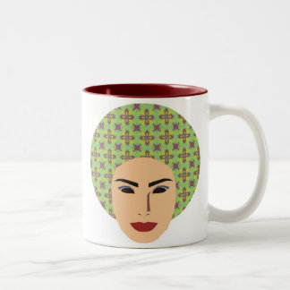 Maria Madalena Two-Tone Coffee Mug