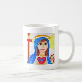 Maria madre del amor tazas de café