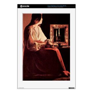 Maria Magdalena de Georges de La Tour Consola PS3 Calcomanía